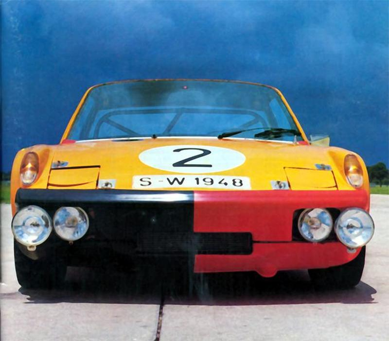 The Nurburgring 914-6 GT sn 914.043.2542 (Panorama Cover Photo)