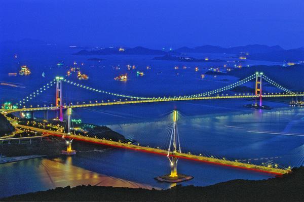 Tsing ma and Ting Kau bridge