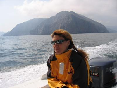 Our divemaster is from Moscow