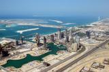 Dubai Marina and the Palm Jumeirah