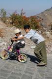 Boys in Al-Hutayb