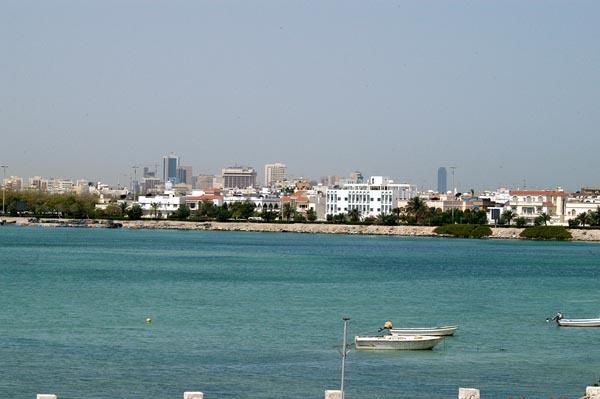 Manama from Muharraq