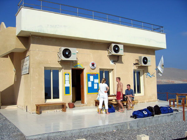 Extra Divers Musandam is a very new dive center in Khasab