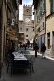Cortona main square clock