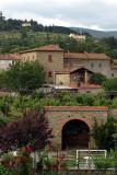 Italian homes below Cortona