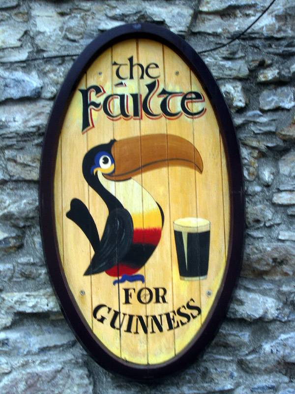Welcome for Guinness