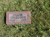 Eagleston, Frank Section 3 Row 15
