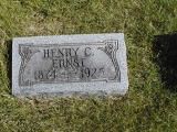 Ernst, Henry C. Section 3 Row 10