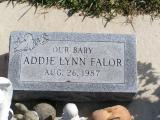 Falor, Addie Lynn Section 6 Row 3