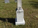 Johnson, N. P. , Comfort, & Lucy (wife of N.P.)Section 2 Row 1