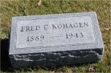 Kohagan, Fred Section 4 Row 13