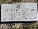 Lovrien, Charles H. Section 5 Row 10