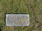 Millard, Charity D. Section 2 Row 14