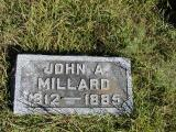Millard, John A. Section 2 Row 14