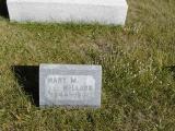 Millard, Mary M. 1844-1921 Section 2 Row 14