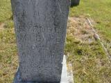 Millard, Cyrus Section 2 Row 15