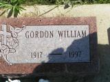 Miller, Gorden William Section 6 Row 6