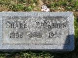 Osborn, Charles F. Section 5 Row 7