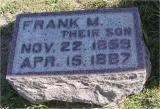 Osborn, Frank M. Section 4 Row 9