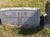 Pletz, Frederick & Dorothy J. Section 5 Row 1