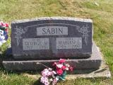 Sabin, George Morris (Doug) & Marian Louise Section 6 Row 3