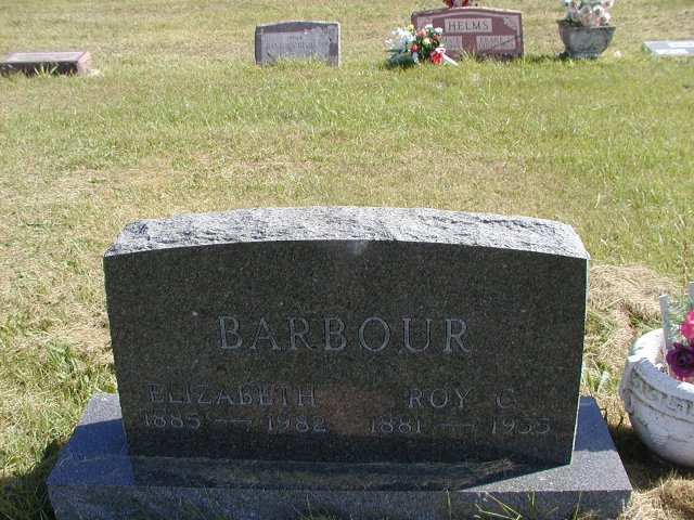 Barbour, Roy C. & Elizabeth Section 5 Row 13