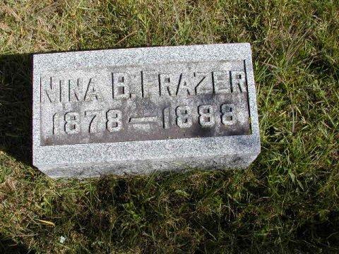 Frazer, Nina B. Section 2 Row 3