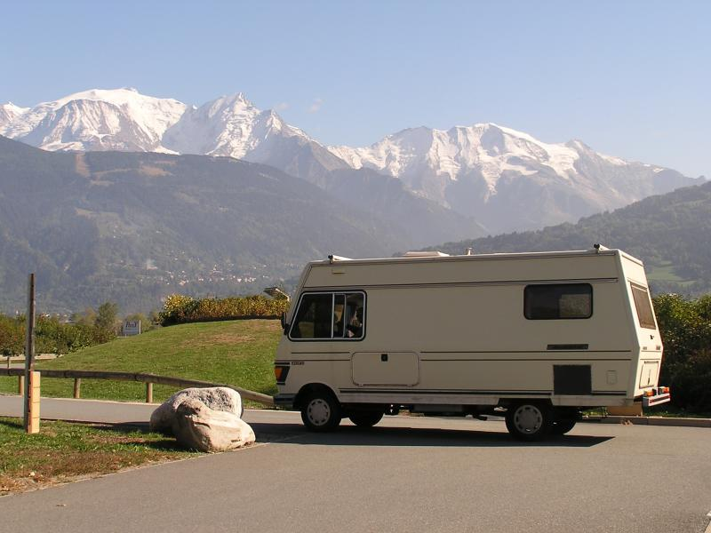 Arnold in Chamonix, France