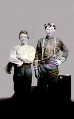 Archibald G. Johnston, 1850-1940, and Robert R. Johnston, Jr., 1848-1914 (#15)