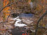 Old creek bed -- spillway near locks