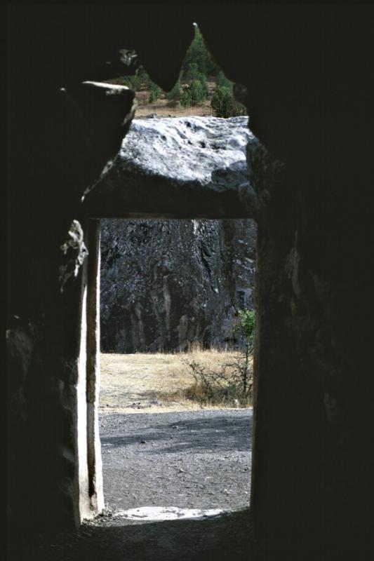 Exit tunnel Yer Kapi Bogazkale