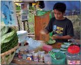 Betel leaves - Hledan Market, Yangon