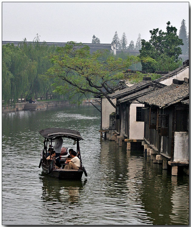 Local transportation on a canal
