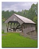 Happy Corner Covered Bridge  -  No.35