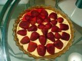 Bañar la tarta con una capa de gelatina