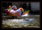 Niki de St Phalle fountain