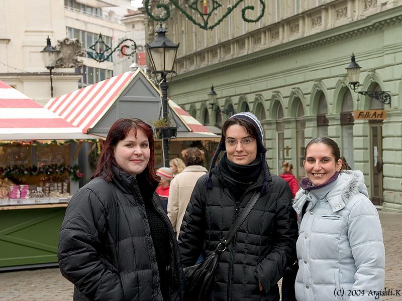 Zuzana, Andrea and Eva