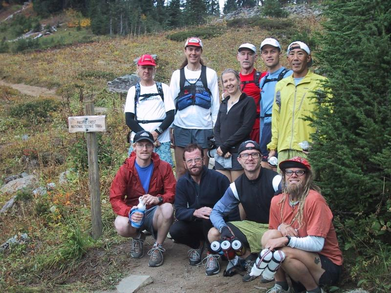 Group at PCT trailhead (SJ)