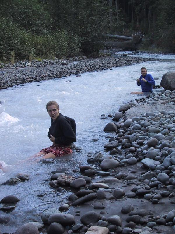 Krissy and Regan arent sure if they love ice water (SJ)
