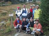 Group at PCT trailhead (SJ)