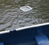 Monitor found floating face up in canal
