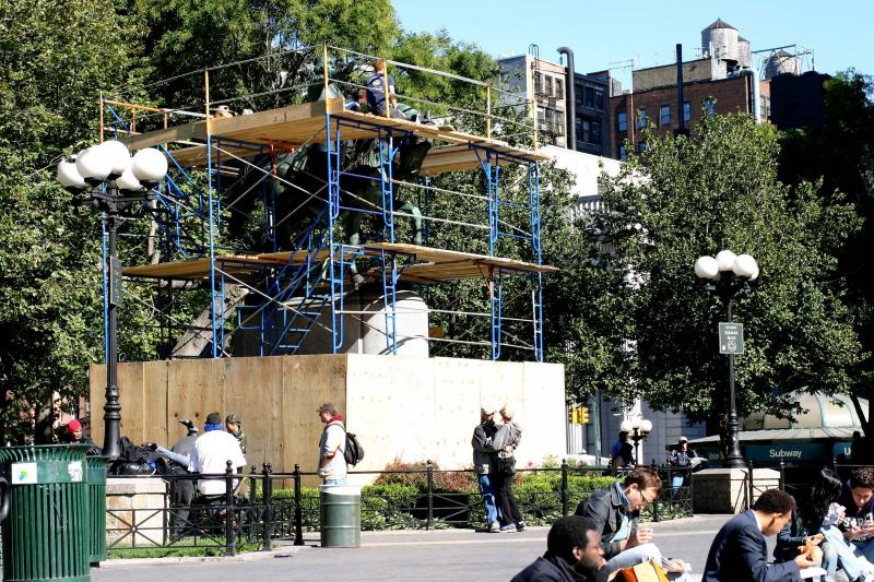 Washington Statue Renovations