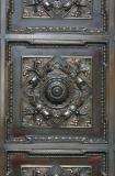 A Front Door Bronze Panel