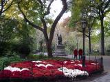 Chrysanthemum Garden by Columbus Statue