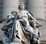 US Customs Court House  Sculpture Detail
