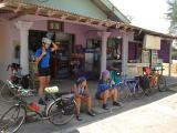 Batu Layar - rest stop with a Ramly Burger stall