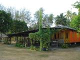 Sedili Country Resort restaurant - very 'kampong-like'