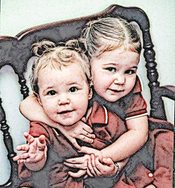 Myrelle & Ivanna-Antique