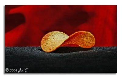Red hot and spicy crisp