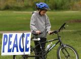 Cycle of Peace using Trek Bicycle